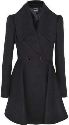 Alexander McQueen cashmere and wool coat.  may very well be worth the 2nd mortgage