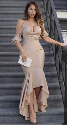 Spaghetti Straps Bridesmaid Bridesmaid, Mermaid High Low Cheap Modest Prom Dresses , – African Fashion Dresses - African Styles for Ladies Trendy Dresses, Elegant Dresses, Sexy Dresses, Plus Size Dresses, Beautiful Dresses, Dress Outfits, Evening Dresses, Casual Dresses, Fashion Dresses