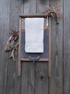 Items similar to Washboard Display Hanger, Washboard, Towel Rack, Bathroom Rack, Jewelry Hanger,Towel Holder, Rustic, Primitive, Country, Rack, ArteryArsenal on Etsy