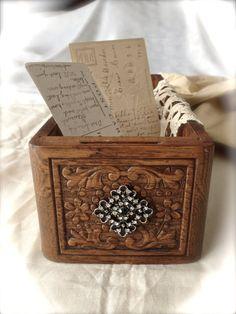 Vintage Sewing Drawer  Antique Brooch Embellished by MissionJewels, $25.00