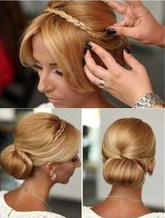 A bun, also known as a bobtail is a hairstyle type that is very appreciated by women in the entire world. It can be made by pulling back your hair