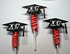 Graduation Party Lollipop Favors / Graduation 2018 / Preschool / Kindergarten / High School / College / Suckers / Grad Decoration Source by Pre K Graduation, Graduation Party Favors, College Graduation Parties, Graduation Presents, Kindergarten Graduation, Grad Parties, Graduation Ideas, Preschool Kindergarten, Red Party Themes