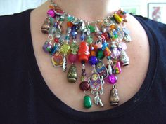 Russian Doll OOAK Babushka Necklace feature by NewellsJewels, £36.00 I need this!  So fun!