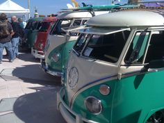 Buses of a feather flock together!! | VWBUS Show | pinned by www.instagram.com/floridapicture