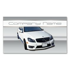 Auto mechanic business cards on pinterest business cards for Mercedes benz business cards