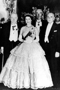 InStyle is the leading site for celebrity style. Royal Queen, Queen Mary, Queen Elizabeth Ii, Winston Churchill, Churchill Quotes, Princess Margaret, Princess Diana, George Vi, Her Majesty The Queen