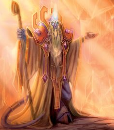 Characters of Wow / Warcraft - Velen (Prophet of the Naaru)