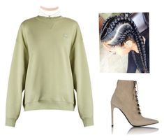 """Dont touch my hair."" by beautyqueen-927 ❤ liked on Polyvore featuring Acne Studios, Charlotte Russe, Balenciaga and Nasty Gal"