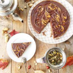 Tarte chocolat et PB vegan