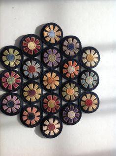 Gail's penny flower mat