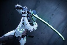 Genji Cosplay - Overwatch - Por Just Cosplay and Props - 04