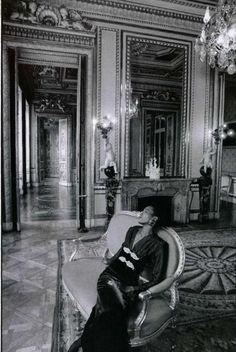 The Legendary Aria Ricarrdo by Frank Horvat for L'Officiel,circa 1986.
