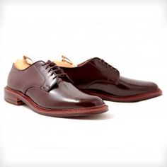 Alden Plain Toe Blucher by Leffot