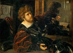 Creator  Giovanni Girolamo Savoldo (c. 1480-after 1548)    Title  Self-Portrait, formerly called Portrait of Gaston de Foix    Work Type  painting    Date  c. 1525    Material  oil on canvas