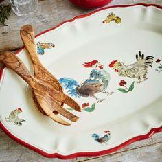 Jacques Pépin Collection Oval Chicken Platter | Sur La Table