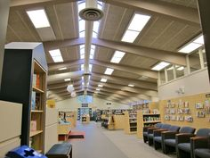 Downsview Branch Library interior