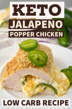 If you are wanting keto comfort food you will love the craziness of this easy jalapeño popper chicken keto recipe. If you are wanting keto comfort food you will love the craziness of this easy jalapeño popper chicken keto recipe. Best Low Carb Recipes, Low Carb Dinner Recipes, Appetizer Recipes, Breakfast Recipes, Dessert Recipes, Breakfast Ideas, Cookie Recipes, Ketogenic Recipes, Diet Recipes