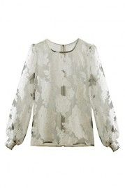 ROMWE | ROMWE Lace Asymmetric White Skirt, The Latest Street Fashion