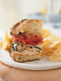 Recipes from The Nest - Mozzarella Chicken Sandwich