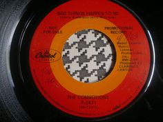 Northern Soul Funky 45   THE COMMOTIONS - Bad Things Happen To Me - CAPITOL  7