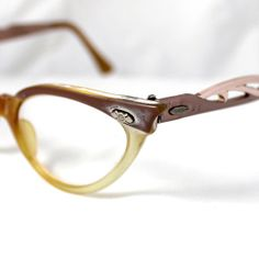 1950's 1960's Vintage B & L Cat Eye Glasses Frames by suzytodd, $15.00 Vintage Style, Vintage Fashion, Cat Eye Glasses, Glasses Frames, 1960s, Shades, Sayings, Accessories, Lyrics