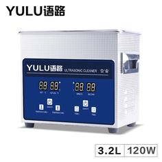 Digital 3.2L Ultrasonic Cleaner Parts Electronic Dental Instrument Tanks Glasses Circuit Board Injectors 3L Washer Heater Timer