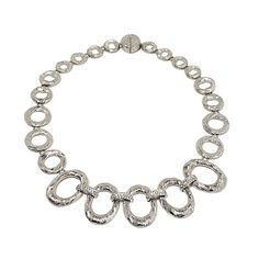 "Emma Skye Crystal Accent Link 18-1/2"" Necklace"