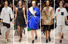 Céline Electrifies the Runway for Spring 2014