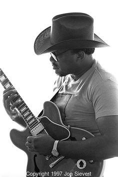 Otis Rush, Sept 1985, San Francisco Blues Festival. blues musician, singer and…