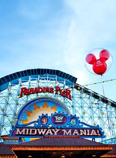 Disneyland // Disney California Adventure // California Screamin // Toy Story Midway Mania