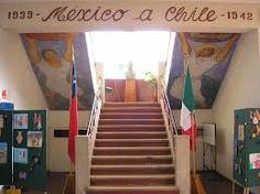 MURALES DE GUERRERO en la Escuela MÉXICO en Chillán, Chile Chile, Stairs, Home Decor, Murals, Paintings, Mexicans, Warriors, School, Cute