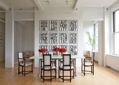 Modern Dining Room and Desai/Chia Architecture in New York City