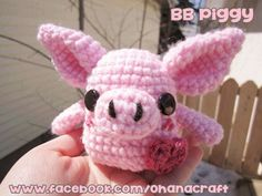 BB Piggy free Crochet Pattern by Ohana Craft