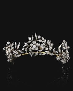 Diamond tiara, late 19th century