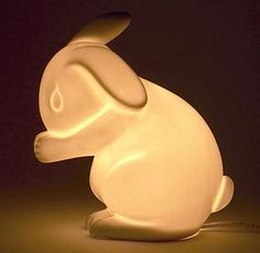 Rabbit Lamp by White Rabbit England
