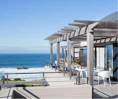 Le Paradis Penthouse Apartment in Hermanus. Stunning sea views over Walker Bay in the Western Cape. Luxury accommodation for 4 adults. See More: http://www.where2stay-southafrica.com/Accommodation/Hermanus/Le_Paradis_Penthouse_Apartment #hermanus #whalewatching #luxuryaccommodation