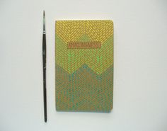 illustrated moleskine pocket notebook  by MessyBedStudio on Etsy