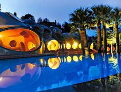 Celebrity Homes: Pierre Cardin /Cannes/