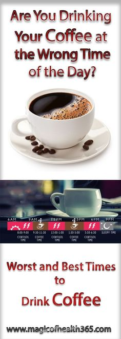 Are You Drinking Your Coffee at the Wrong Time of the Day (Worst and Best Times to Drink Coffee)