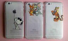 Snoopy,T&J,Tiger Cartoon Transparent Hard Case Cover Schutzhülle für iPhone 6/6s
