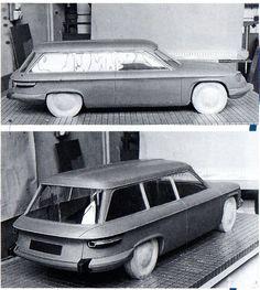 Stel dat het die was geworden....? - AutoWeek.nl Station Wagon prototype for Panhard