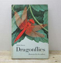 Dragonflies, 1972, Hilda Simon, vintage kids book by RandomGoodsBookRoom on Etsy