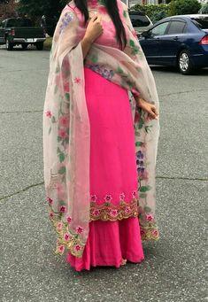 Haute spot for Indian Outfits. Punjabi Suits Designer Boutique, Boutique Suits, Indian Designer Suits, Indian Suits, Indian Wear, Punjabi Suits Party Wear, Punjabi Salwar Suits, Salwar Kameez, Embroidery Suits Punjabi
