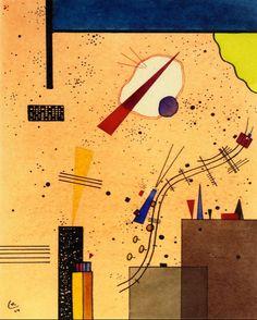 Spray,1924,by Wassily Kandinsky
