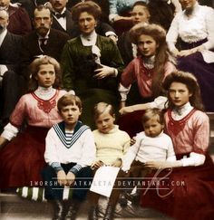 Romanovs Visit to Darmstadt by =Livadialilacs on deviantART