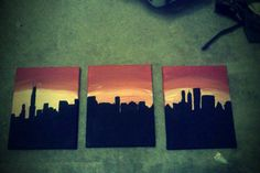 Chicago Skyline @Misty Schroeder Bowen