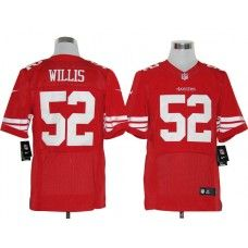 e2bbffc8ff1 Nike Patrick Willis Jersey Elite Team Color Red San Francisco 49ers  52  Patrick Willis