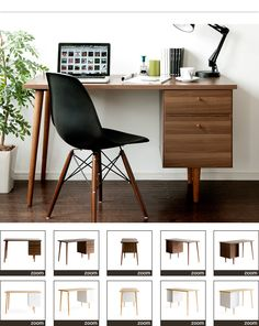パソコンデスク(バベル)の通販|北欧インテリア・家具ならエアリゾームインテリア本店
