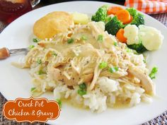 The Country Cook: Crock Pot Chicken and Gravy