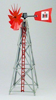 """S IH 17-Inch Windmill by S, Inc.. Save 16 Off!. $31.76. High Quality construction. Officially licensed product. 5"""" blade with brass bushings. Great for displays or train model set ups. Officially licensed International Harvester 17"""" Windmill. Great for displays or train model set ups this item features 5"""" blade with brass brushings."""